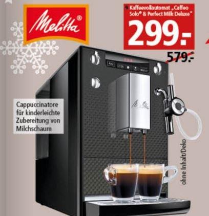 [Segmüller nur offline] Caffeo SOLO & Perfect Milk DeLuxe Kaffeevollautomat für 299€ (PVG 479€)