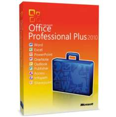 Für (37,85€) Office 2010 Professional Plus Vollversion Deutsch [ebay.de]