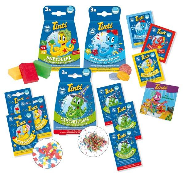 Tinti Buntes Badezimmer Vorteilspack, 1er Pack (1 x 7 Stück) @amazon