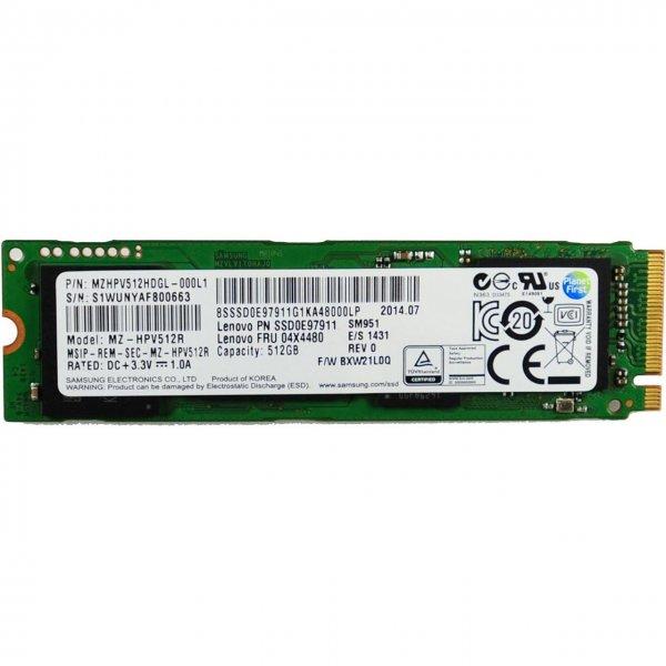 Samsung SSD SM951 - NVMe 512GB M.2 32Gb/s ab 249,00 @ MF