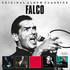 Amazon Prime : CD Falco -  Original Album Classics  5 er Box-Set - Nur 9,99 €  Inklusive kostenloser MP3-Version dieses Albums.