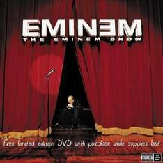 Amazon Prime :  The Eminem Show [+Special Bonus DVD] CD+DVD, Limited Edition  - Nur 3,33 €  Inklusive kostenloser MP3-Version dieses Albums.