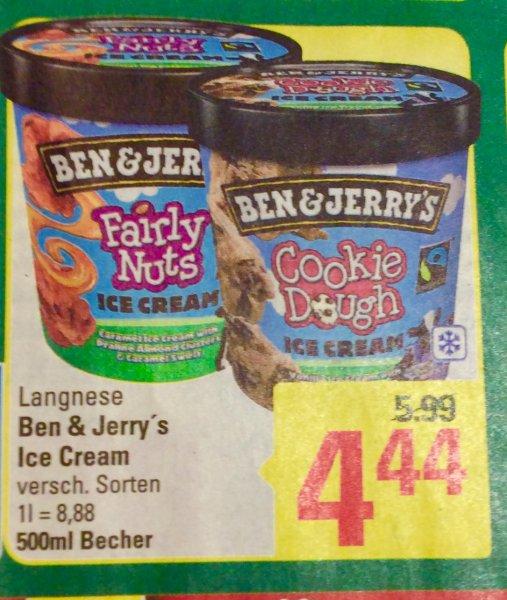 (Marktkauf) Ben & Jerry's ICE Cream ver.Sorten für 4,44€
