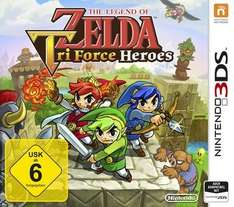 [Saturn] The Legend of Zelda: Tri Force Heroes - Nintendo 3DS für 27,99€ Versandekostenfrei