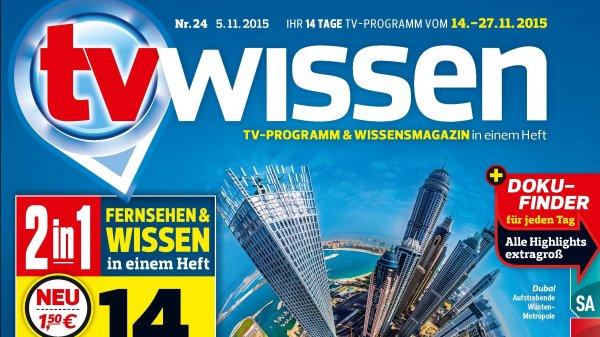 TV-Wissen 6 Ausgaben 6,30€ + Prämie
