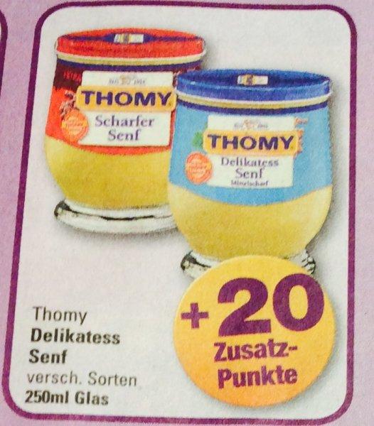 (Marktkauf) Thomy Senf Glas 250 ml für 0,49€