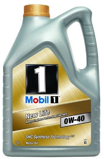 [Amazon Blitzangebot] Mobil 1 New Life Motoröl 0W40 5L ->Perfekt für den Winter!