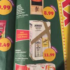 Bombay London Dry Gin (White Label) inkl. Schweppes Tonic Water - [Penny] ab 16.11 - 11,99€
