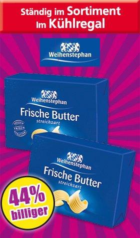 [Norma/Penny] Weihenstephan Butter 250g für 0,99€ ab  16.11.