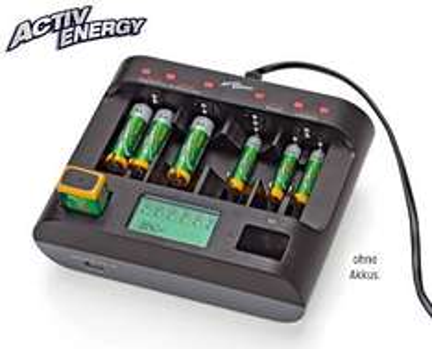 ALDI Süd - ACTIV ENERGY®  Profi-Schnell-Ladegerät mit USB ab Montag, 16.11.2015