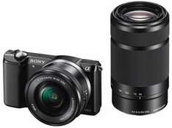 [Redcoon/Ebay]  Sony Alpha 5000 schwarz + Obj. AF E 16-50mm 3.5-5.?6 OSS PZ + 55-210mm 4.5-6.?3 OSS für 489,-€ Versandkostenfrei