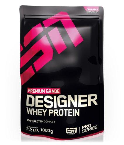 [team-andro.com] ESN Designer Whey Protein, 1000g | 5 Stück | 15,10€ pro Beutel