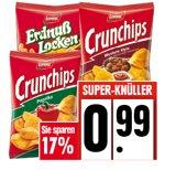 [EDEKA SW] Lorenz Crunchips oder Erdnusslocken 175-200g für 0,99€