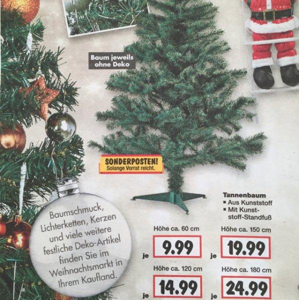 Künstlicher Tannenbaum ab 9,99€ Kaufland Sindelfingen