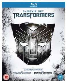 Transformers 1 - 3 Blu-Ray Box bei Zavvi.de