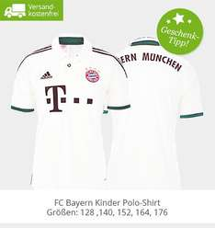 Kinder Bayern Trikot