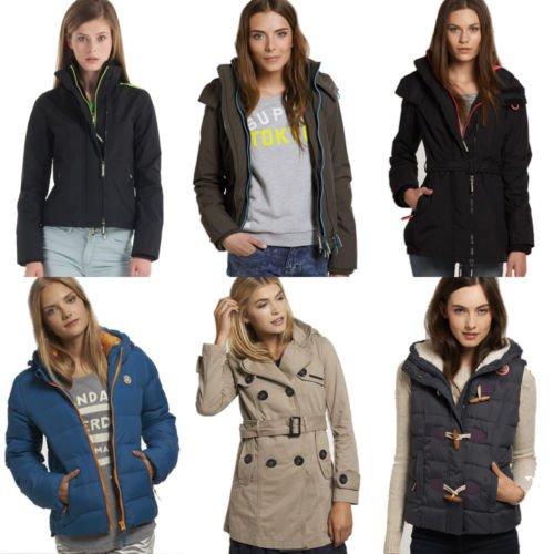 Superdry Damen Jacken 24 Modelle @ ebay für 59.95 Windcheater, Westen, Jeans, Klassisch etc.