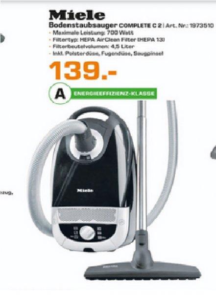 (Lokal) Miele Complete C2 Celebration Pro EcoLine Plus für 139€ @ Saturn Bremen
