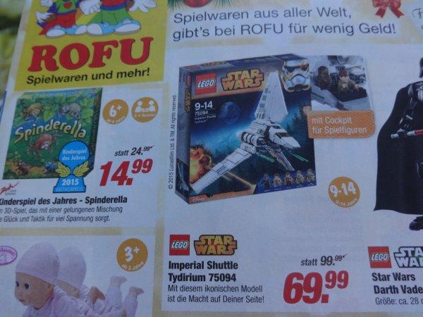(ROFU) Lego 75094 Imperial Shuttle Tydirium