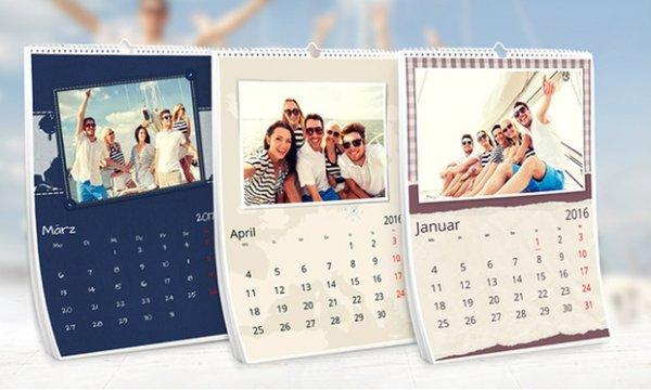 Groupon A3 Fotokalender 4,99€ statt 29,99€  83% Sparen