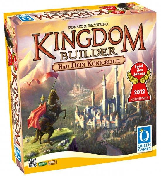 Kingdom Builder, Spiel des Jahres 2012 für 14,99€ + ggf Versand @Amazon Blitzangebote
