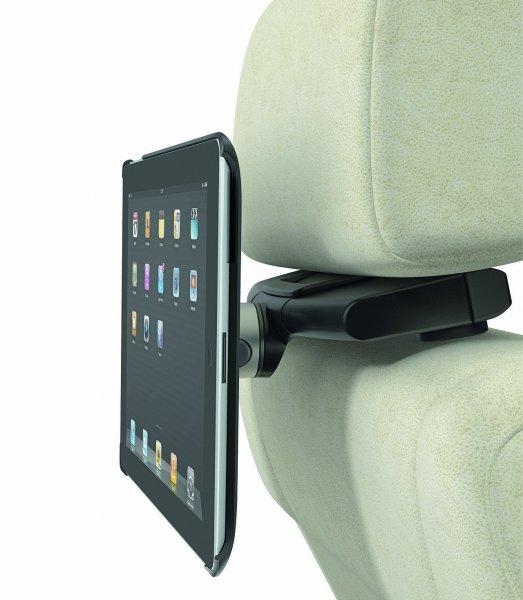 [Amazon IT] Vogel's TMS 302 Kopfstützenhalter für Apple Ipad 2 + 3 + 4, drehbar, schwarz-silber