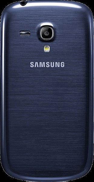Samsung Galaxy S3 mini blau/schwarz/weiß