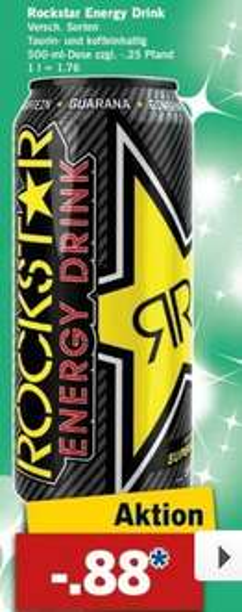 [Lidl/Bundesweit] Rockstar Energy Drink 0,88€(+Pfand)