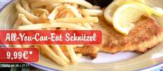 Schnitzel All You Can Eat bei Miss Pepper American Restaurants für 9,99€ am 16. & 17.11.2015
