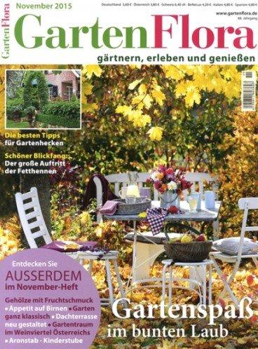 GartenFlora - 3 Ausgaben für effektiv 2,90€ durch 5,00€ BestChoice-Gutschein