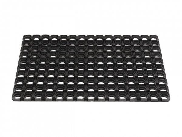 Bauhaus online; Fussmatte Gummi 40x60 Domino schwarz für 2,95€ VSK frei