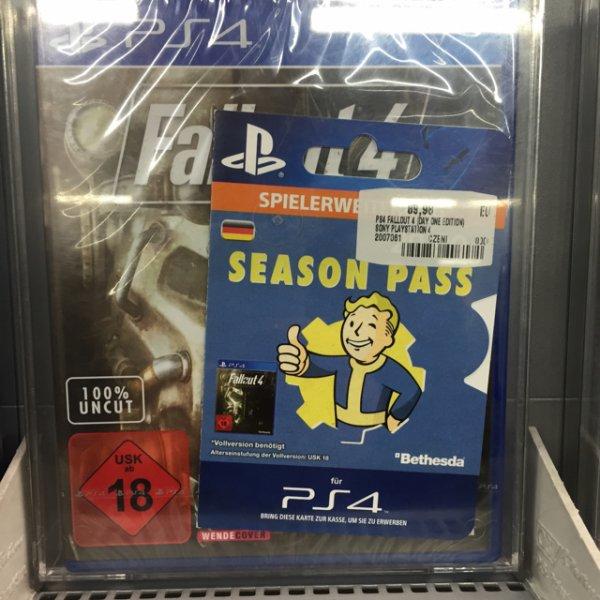 PS4 Fallout 4 + season pass Saturn nürnberg (lokal?)