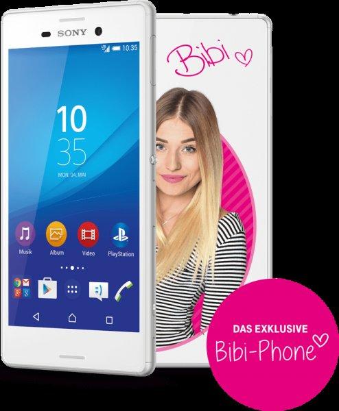 [Telekom] Sony Xperia M4 Aqua Bibi-Phone Edition zum Bestpreis!