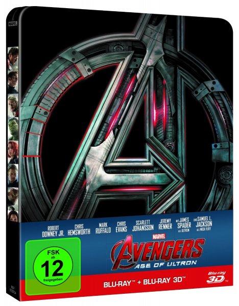 (buecher.de) Avengers - Age of Ultron (3D Blu-ray Steelbook) für 22,99€ / Ant-Man (3D Blu-ray Steelbook) für 22,99€