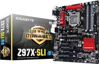 [NBB] Gigabyte GA-Z97X-SLI Mainboard ( Intel Z97 Sockel 1150, 4x DDR3, GB LAN, M.2, 6x SATA, 2x PCIe 3.0, SLI) für 82,98€