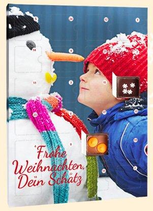 Personalisierte Adventskalender ab 14,61€ @chocri
