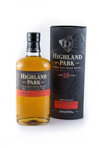 Highland Park 18 Jahre Single Malt Scotch Whisky für 79,87€