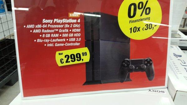 PS4 500GB B-Ware