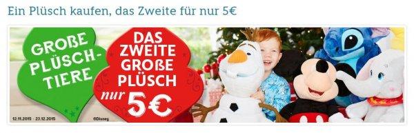 Disney Plüschtier beim Kauf von zwei, 45€ sparen