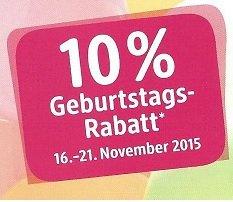 [Lokal dm Glinde] 10 % Rabatt auf Alles vom 16.-21.11.
