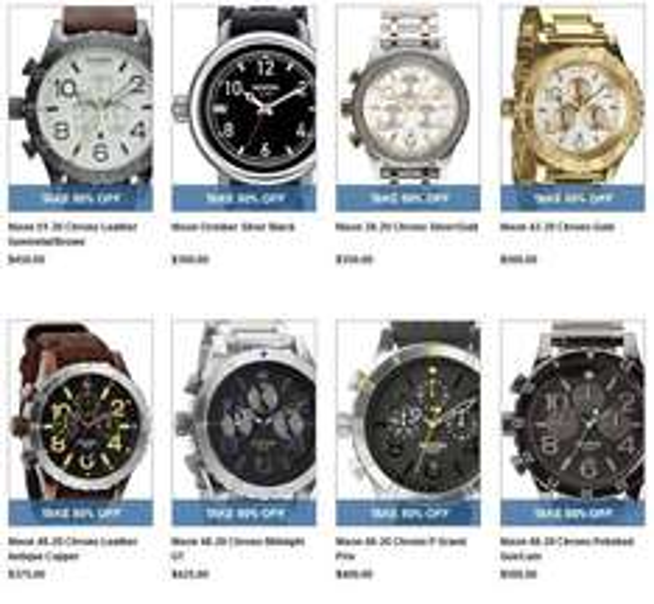 NIXON Uhren 50% Watchisimo