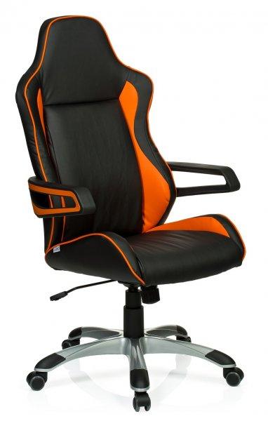 Gaming Chair / Bürostuhl von HJH Office in schwarz orange bei buerostuhl24.com für 129,90€ mit Gutschein nur noch 119,90€