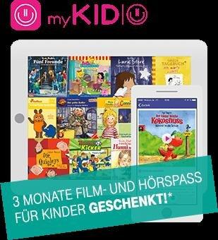 Tolle Unterhaltung für Kids: myKIDIO jetzt für Telekom Kunden 3 Monate kostenlos