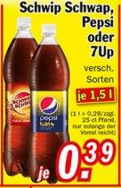 [ZIMMERMANN] Schwip Schwap / Pepsi / Pepsi Twist / 7UP 1,5l für 0,39€ (=0,26€/Liter)