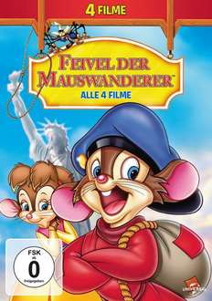 [media-dealer.de] Feivel der Mauswanderer - Alle 4 Filme (DVD)