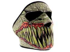 Skimaske Monster (auch für Biker Snowboarder Paintball & Co) @ebay