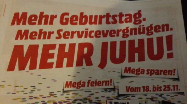 [Lokal] Media Markt Offenburg feiert Geburtstag, kleine Zusammenfassung