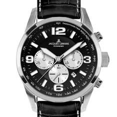 Jacques Lemans 40-5A Chronograph Uhr Herrenuhr