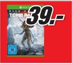 [Lokal Mediamarkt Porta Westfalica] Rise of the Tomb Raider (Xbox One) für 39,-€