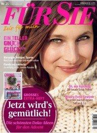 Zeitschrift FÜR SIE für 37,70 Euro mit 35,- Euro Amazon-Gutschein